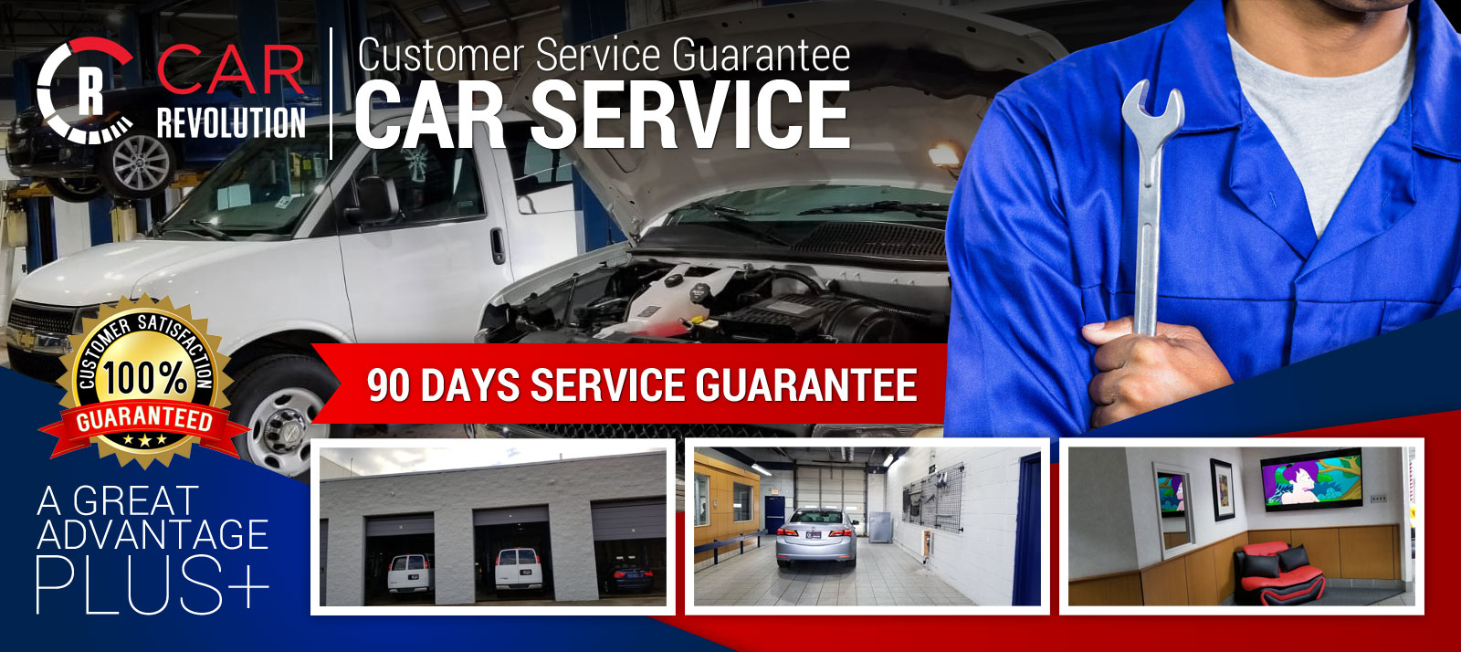 90 days service guarantee
